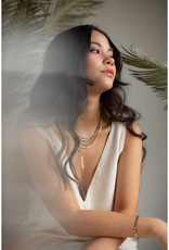 Hailey Gerrits Designs Capri Necklace - Pink Amethyst