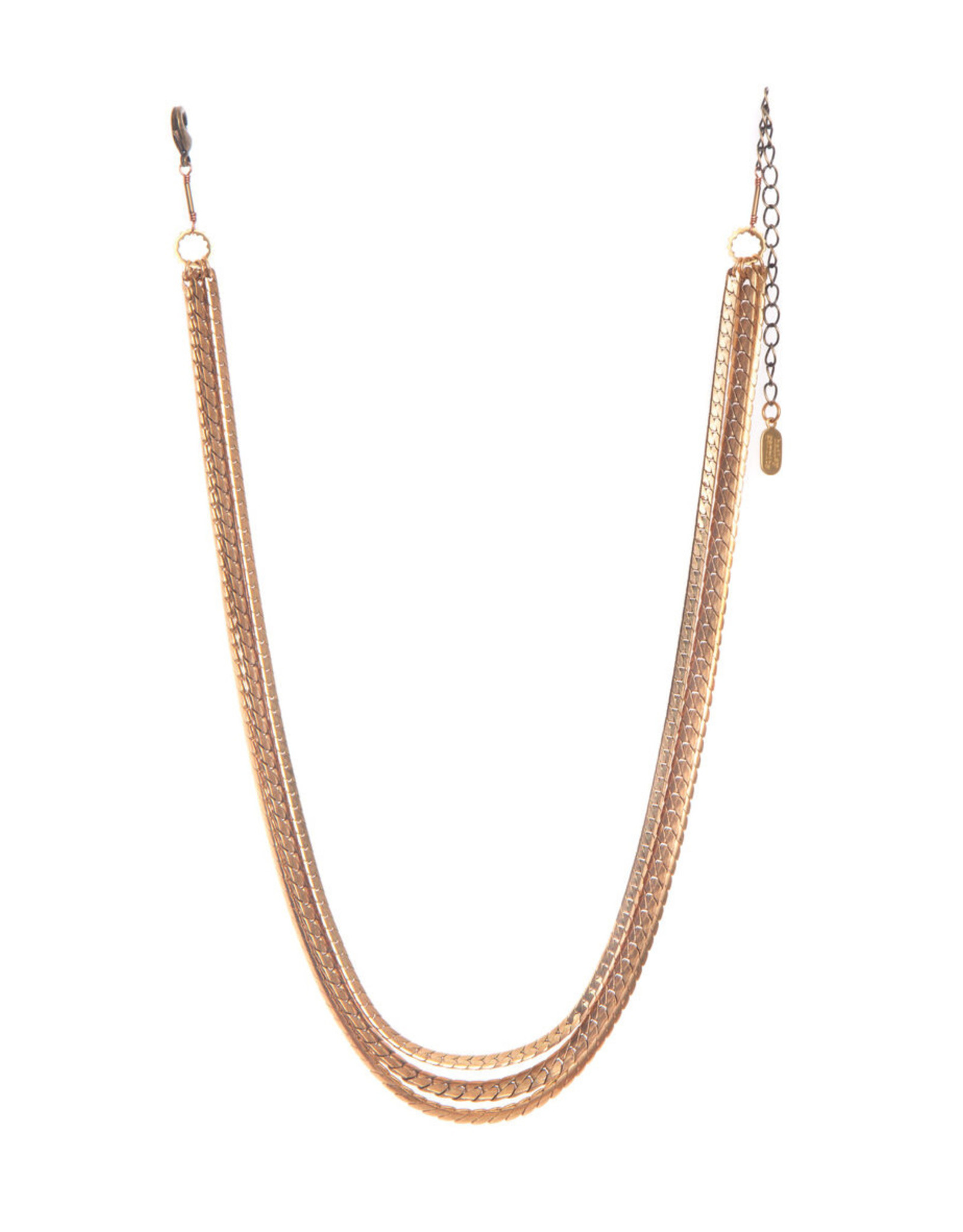 Hailey Gerrits Designs Large Mixed Chain Necklace