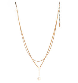 Hailey Gerrits Designs Sidra Necklace - Pearl