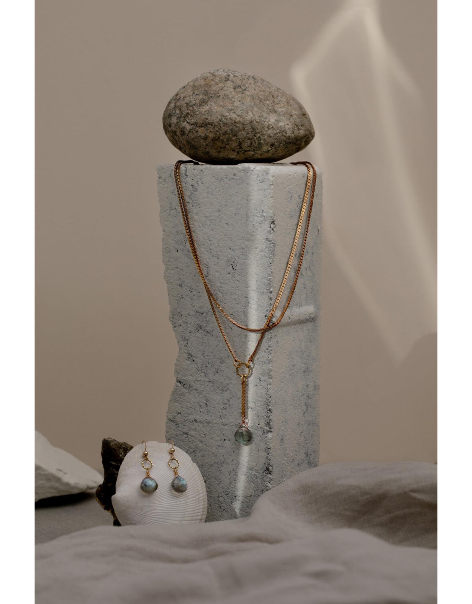 Hailey Gerrits Designs Sidra Necklace - Moonstone