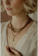Hailey Gerrits Designs Sidra Necklace - Pink Amethyst