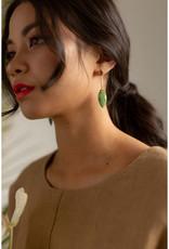Hailey Gerrits Designs Amazon Earrings - Pink Amethyst