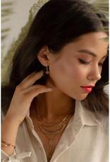 Hailey Gerrits Designs Nile Earrings - Green Turquoise
