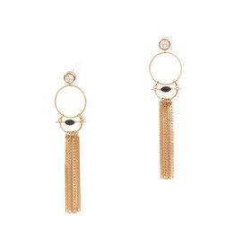 Hailey Gerrits Designs Venus Earrings - Copper Rutilated Quartz
