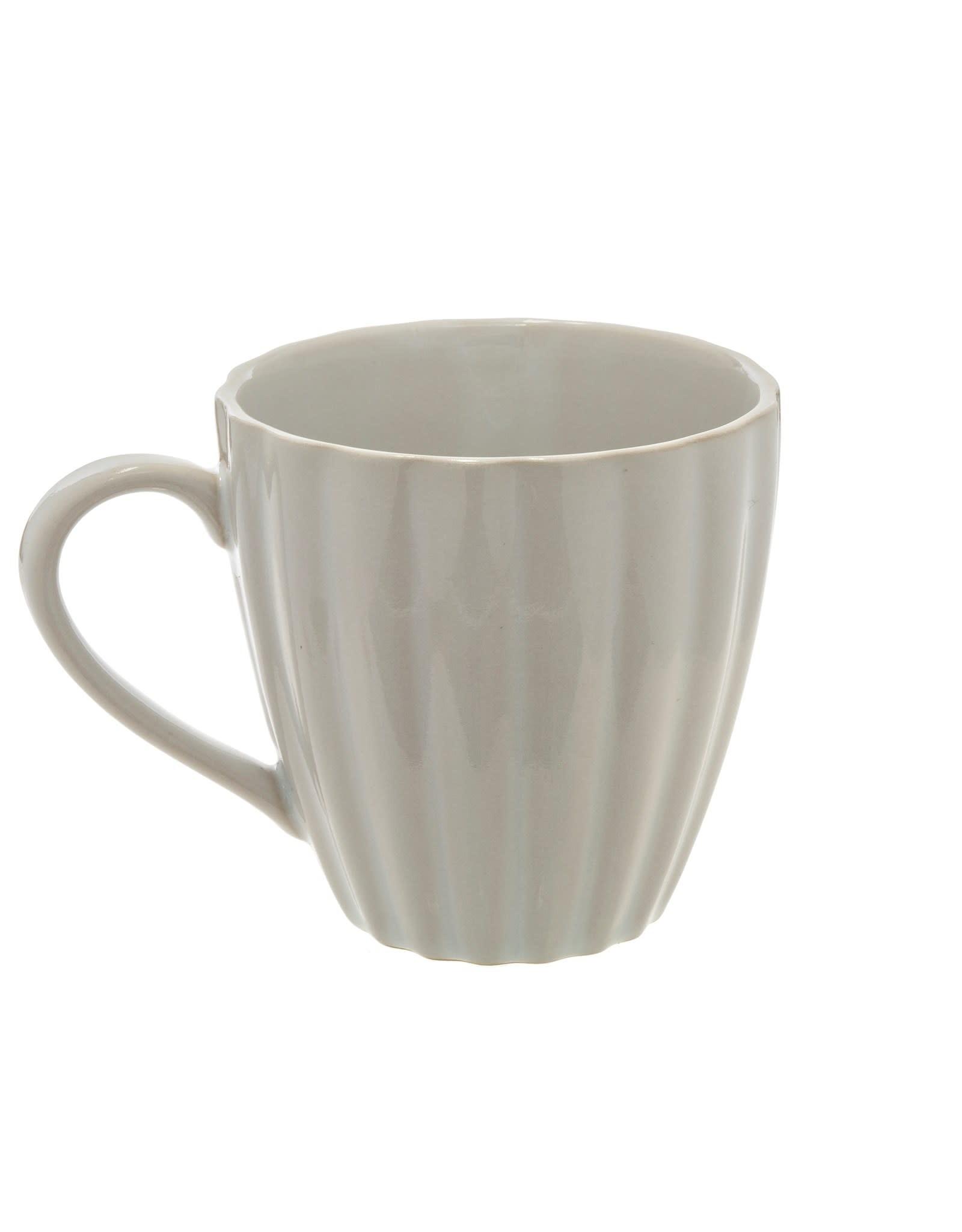Indaba Amelia White Mug