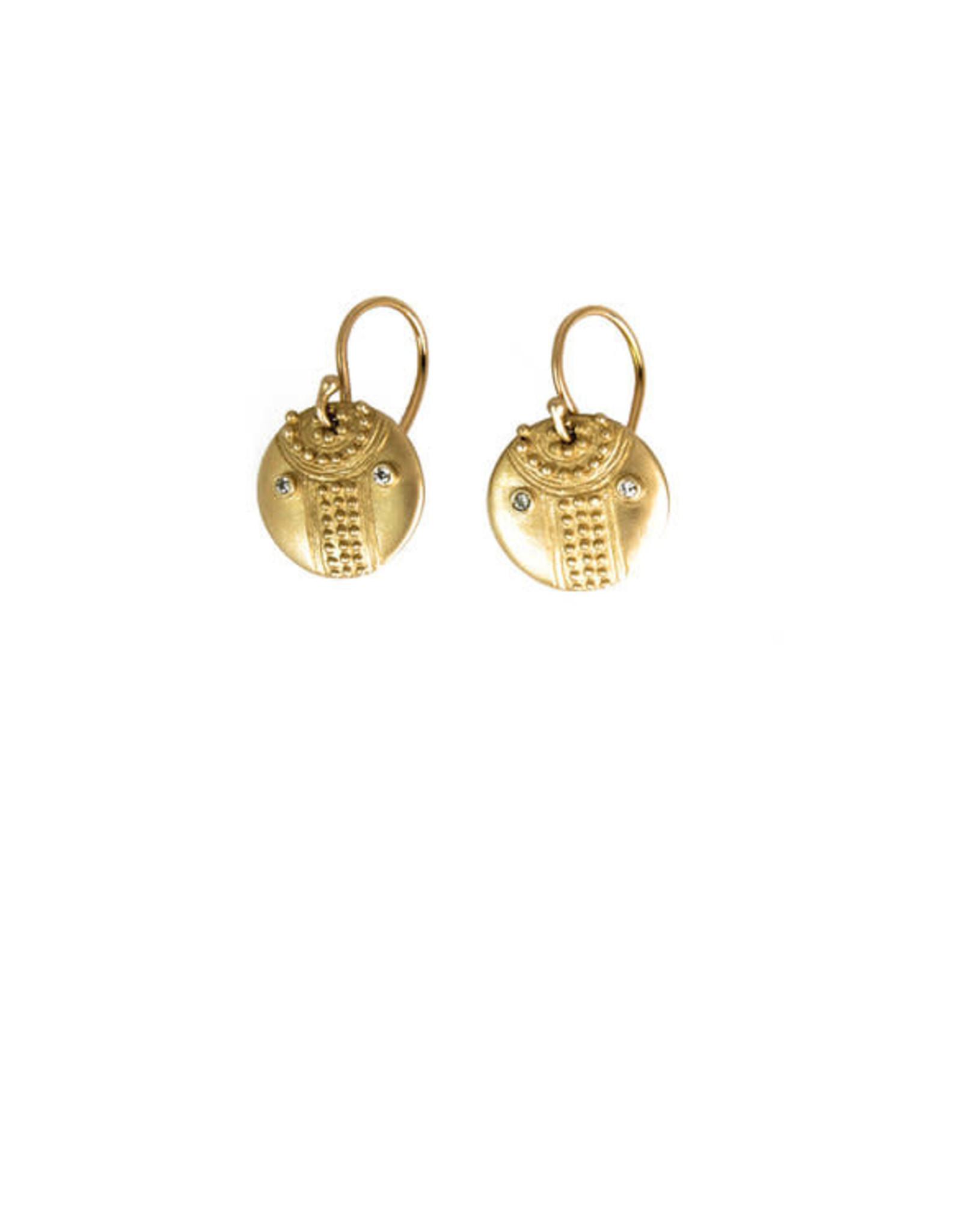 Lorak Jewelry Small Shield Earrings