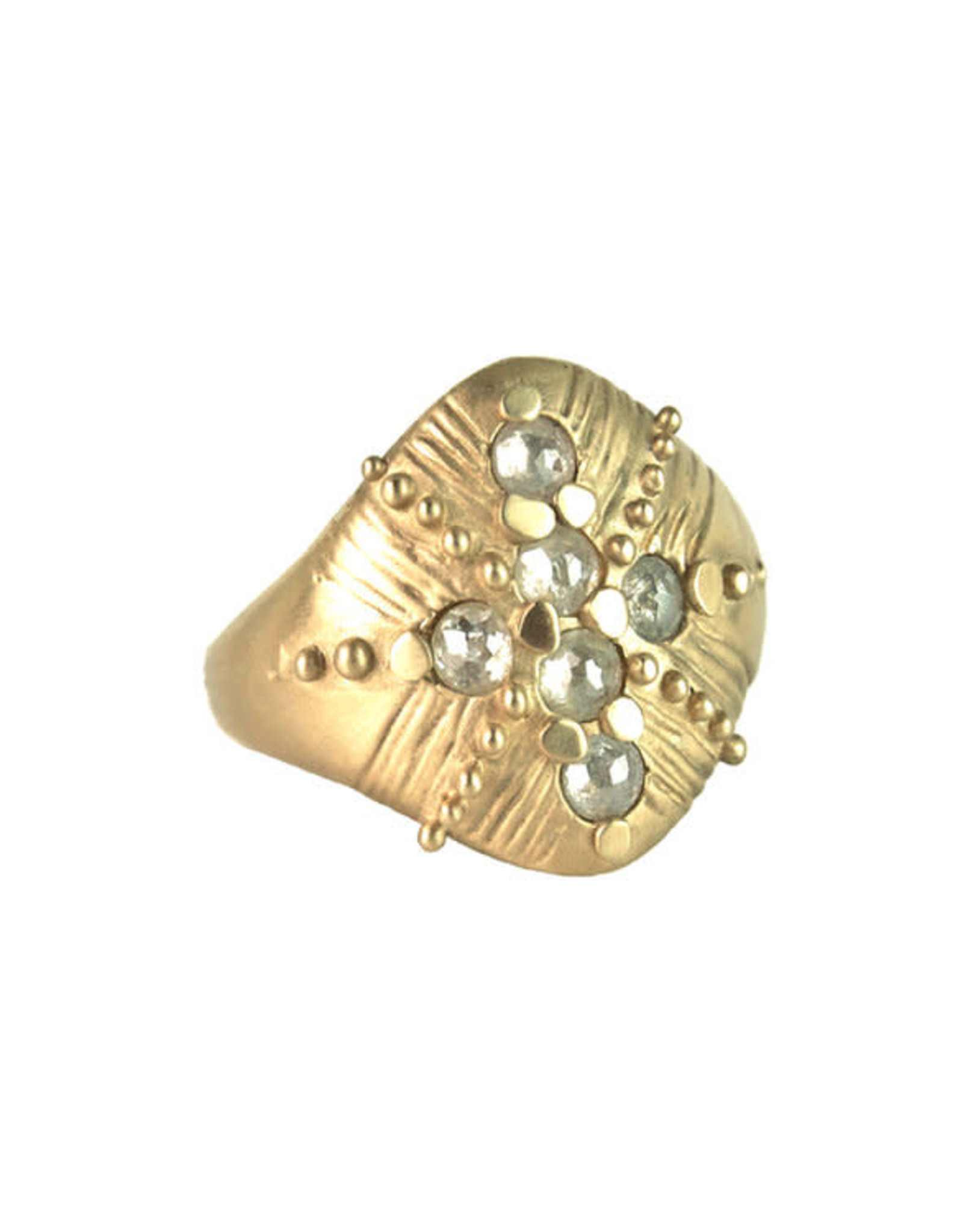 Lorak Jewelry Shield Ring - Sz. 7