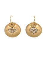 Lorak Jewelry Medium Shield Earrings