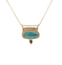 Lorak Jewelry Opal Horizon Necklace