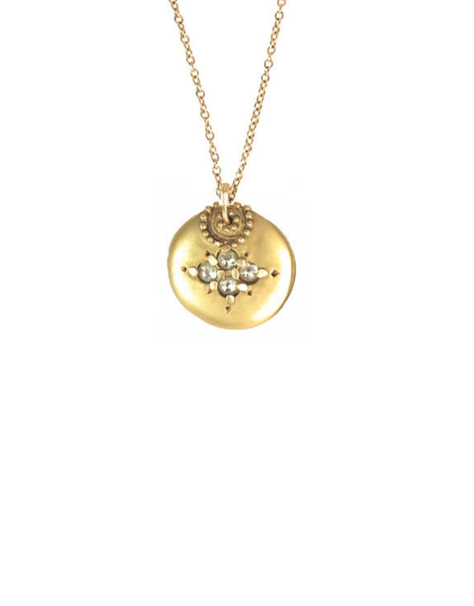 Lorak Jewelry Medium Shield Necklace
