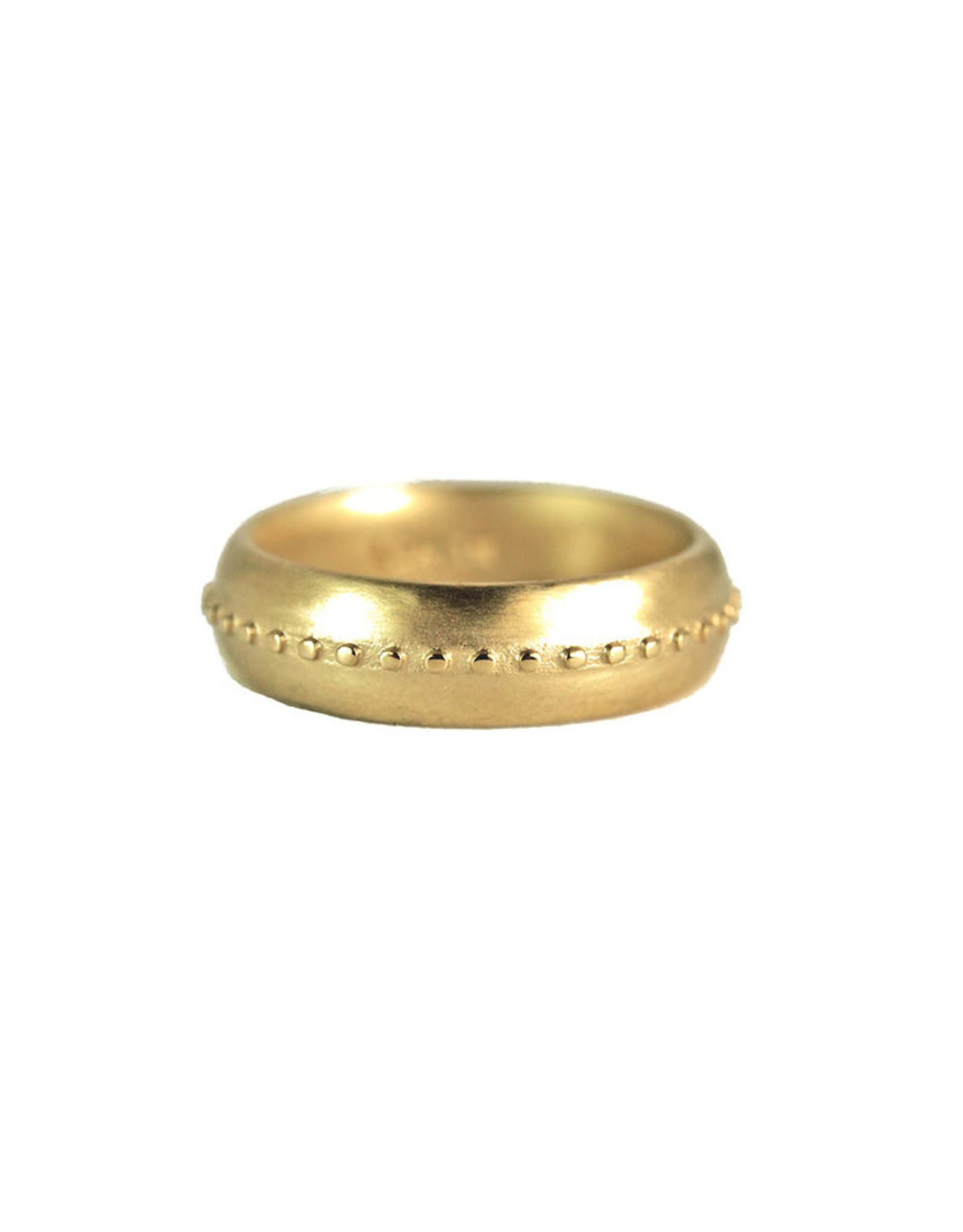 Lorak Jewelry Thick Bead Band - Sz. 6.5