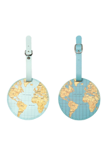 Kikkerland World Traveller Luggage Tag