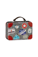 Maileg Metal Suitcase - Grey Well-Travelled
