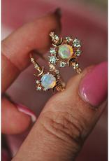 Sofia Zakia Opal Wandering Star Ring