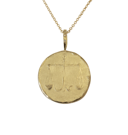 Robin Haley Jewelry The Scale (Honesty) Gold Artifact Necklace