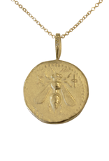 Robin Haley Jewelry The Bee Gold Artifact Necklace