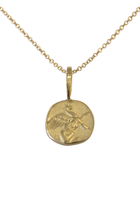 Robin Haley Jewelry Cup Runneth Over Gold Artifact Necklace