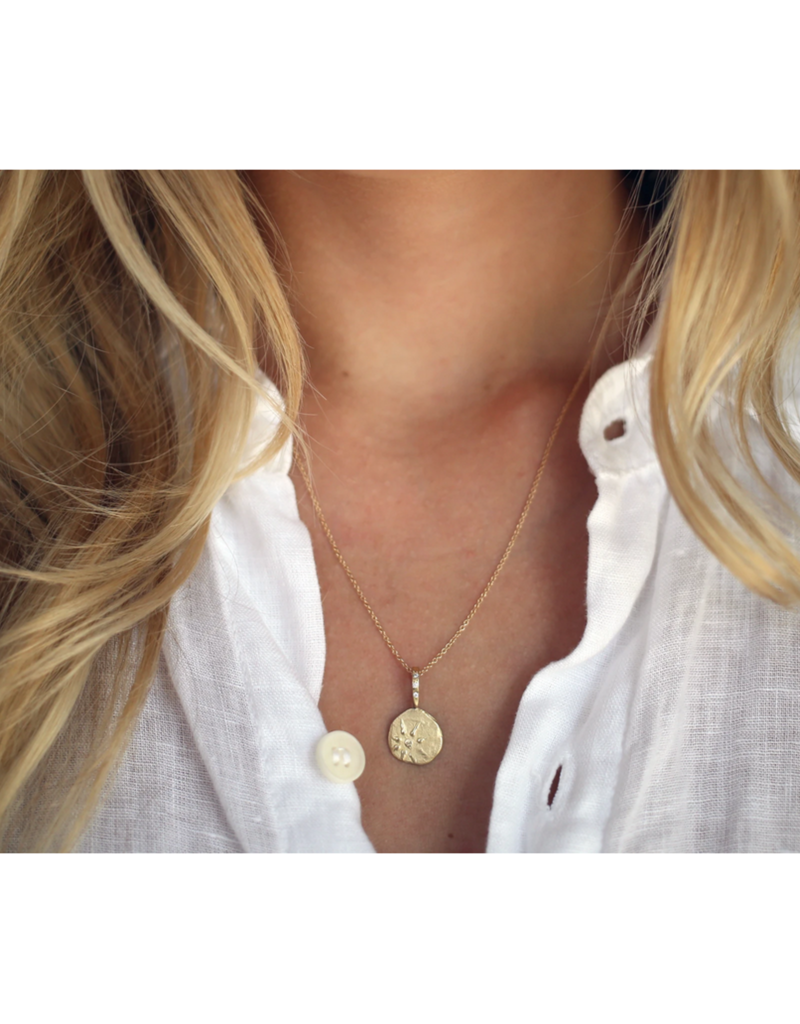 Robin Haley Jewelry Anchored In Gratitude Artifact Necklace