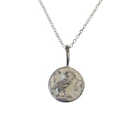 Robin Haley Jewelry Wisdom Owl Artifact Necklace