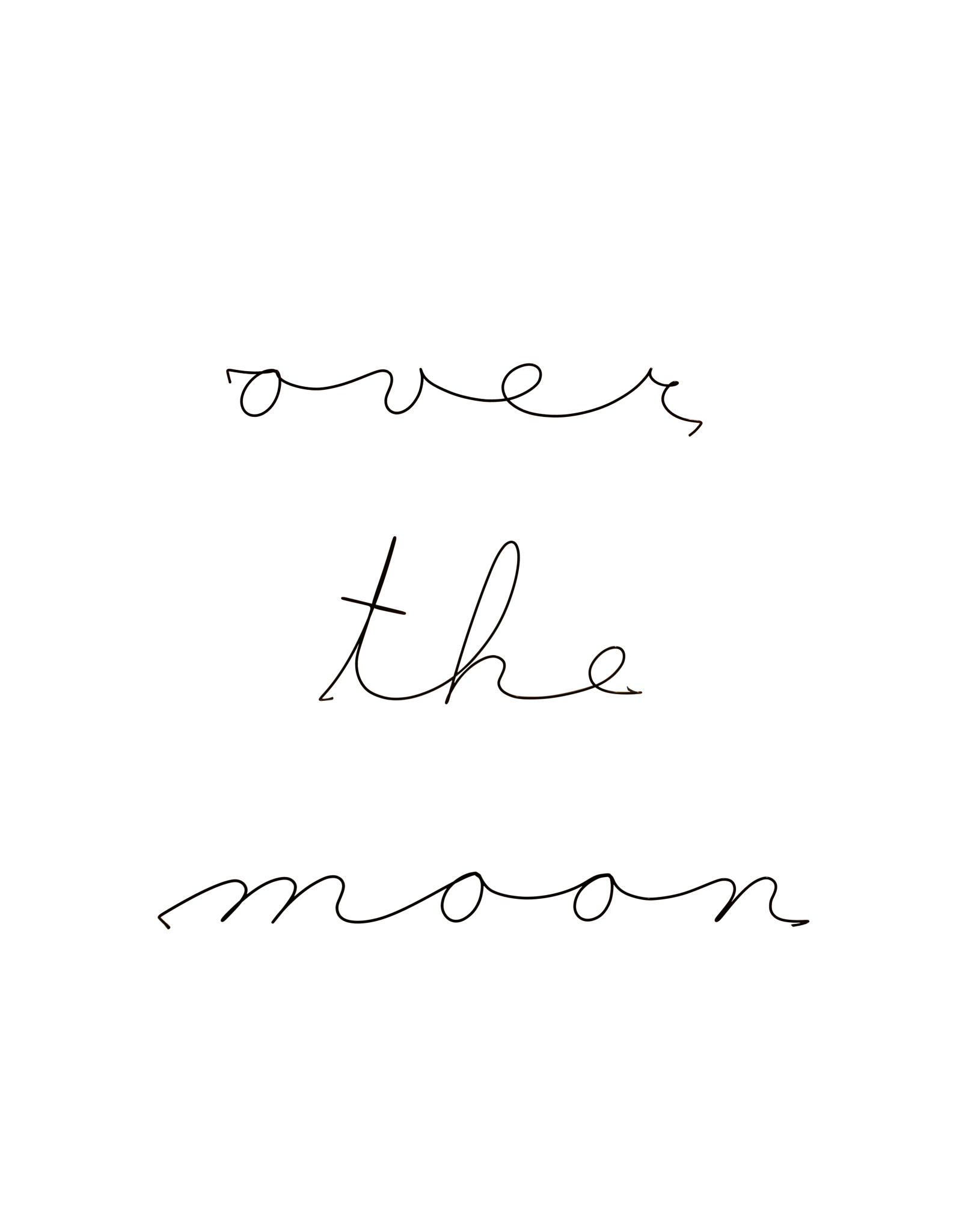 Gauge NYC 'over the moon' Wire Word Poetic