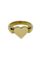 Vayu Jewels Vintage Heart Ring - Sz. 6