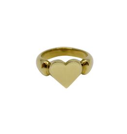 Vayu Jewels Vintage Heart Ring - Sz. 7