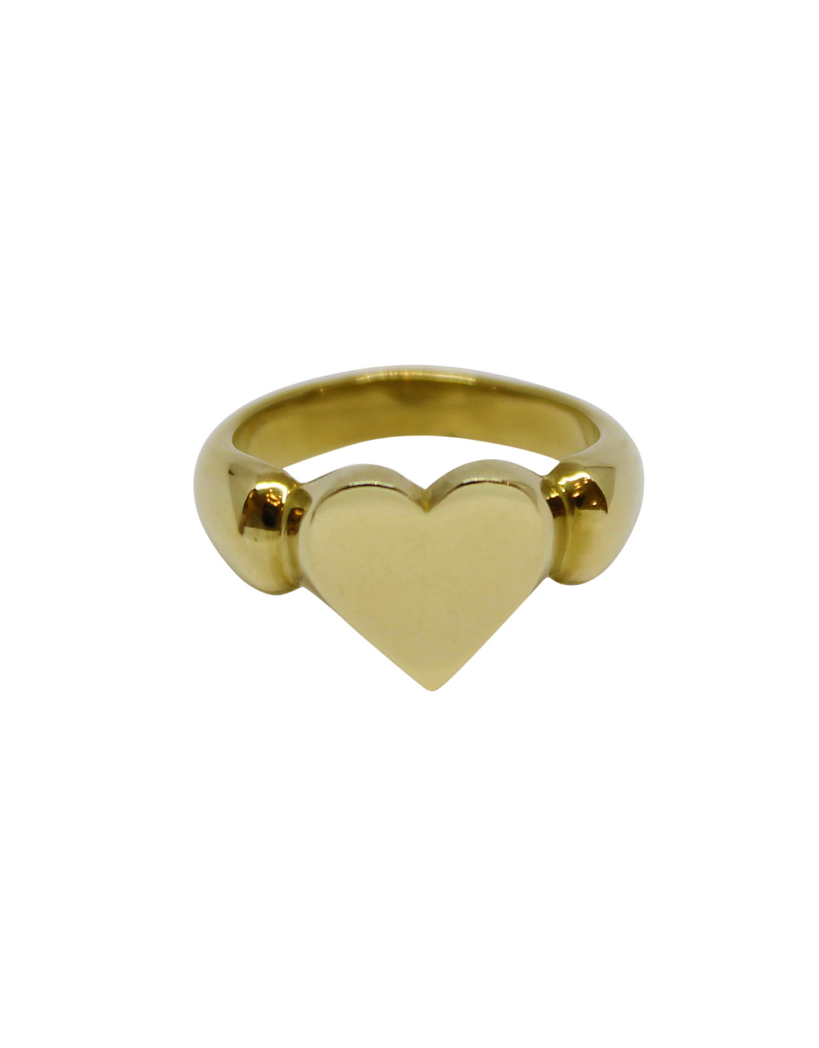 Vayu Jewels Vintage Heart Ring - Sz. 8