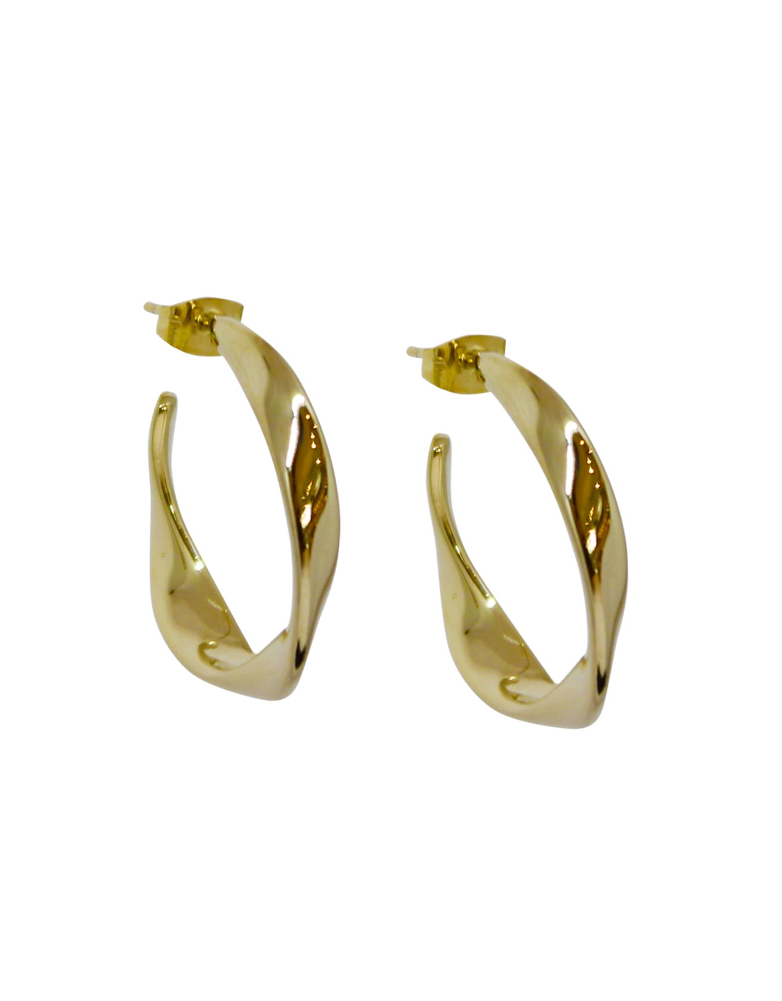 Vayu Jewels Organic Hoops