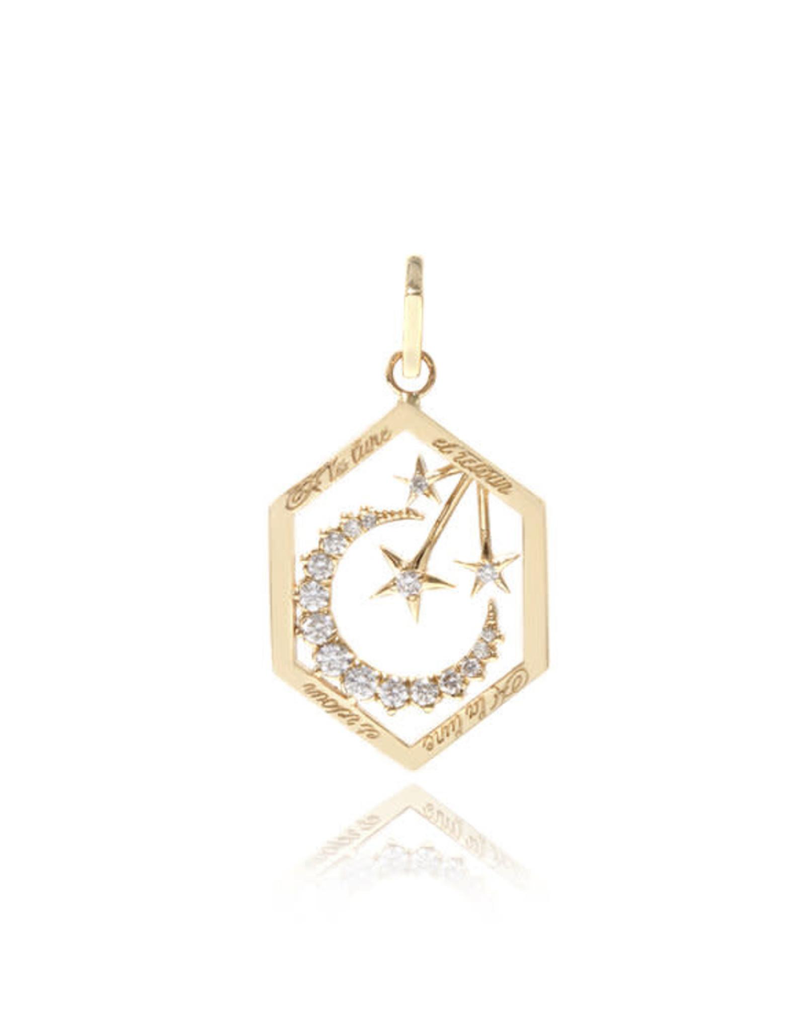 Ashley Zhang Jewelry Moon Love Token