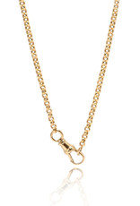 """Ashley Zhang Jewelry Small Belcher Chain with Dog Clip Clasp - 18"""""""