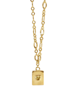 Vayu Jewels Luciene Necklace - Citrine Yellow