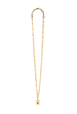Vayu Jewels Luciene Necklace - Ruby Red
