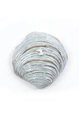 Yarnnakarn Small Shell Dish - Blue Glaze