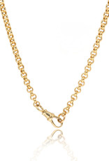 Ashley Zhang Jewelry Large Belcher Chain with Dog Clip Clasp