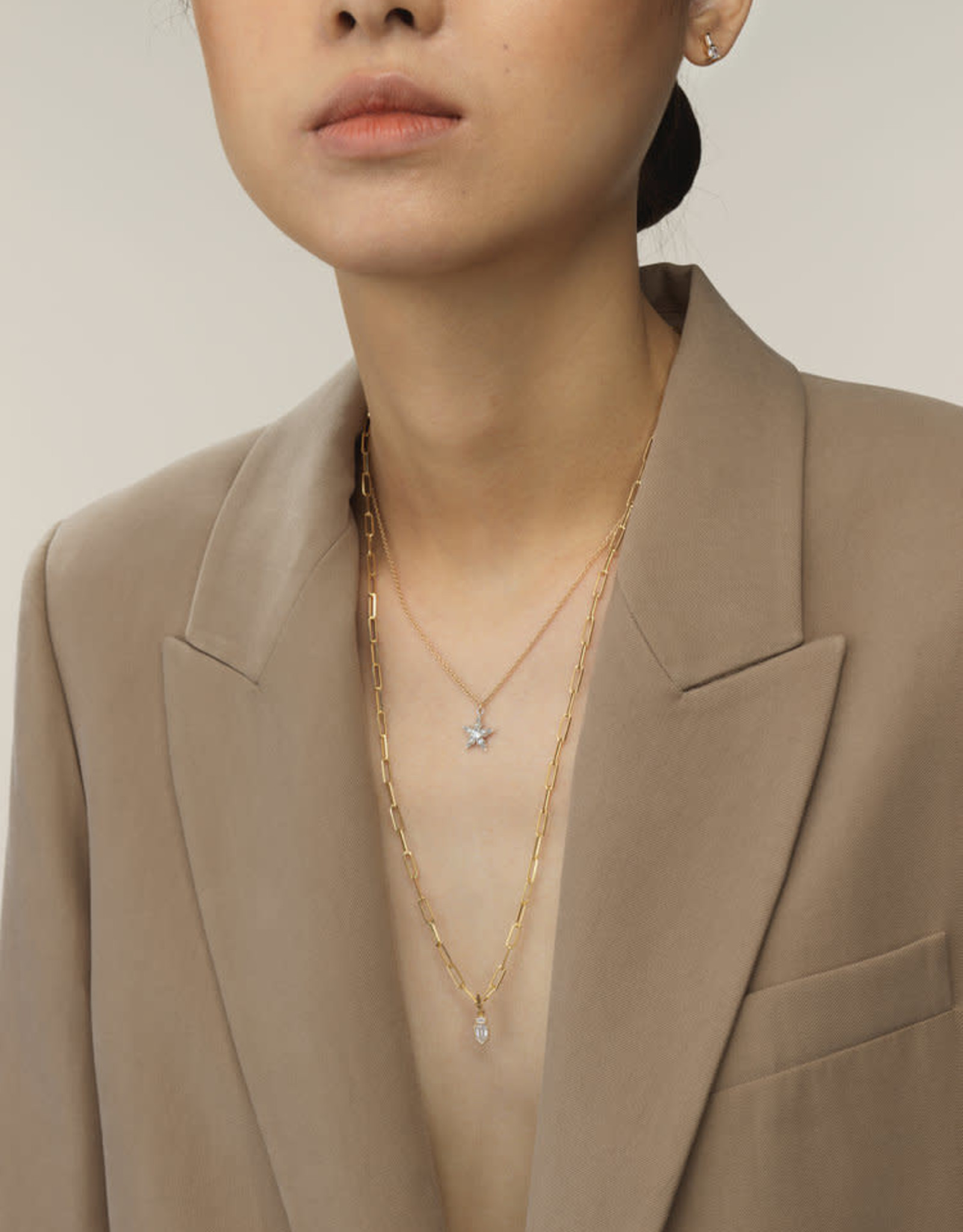 Ashley Zhang Jewelry Large Link Chain