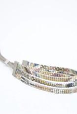Julie Rofman Jewelry Alta Triple Beaded Bracelet