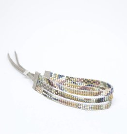 Julie Rofman Jewelry Alta Triple Beaded Bracelet