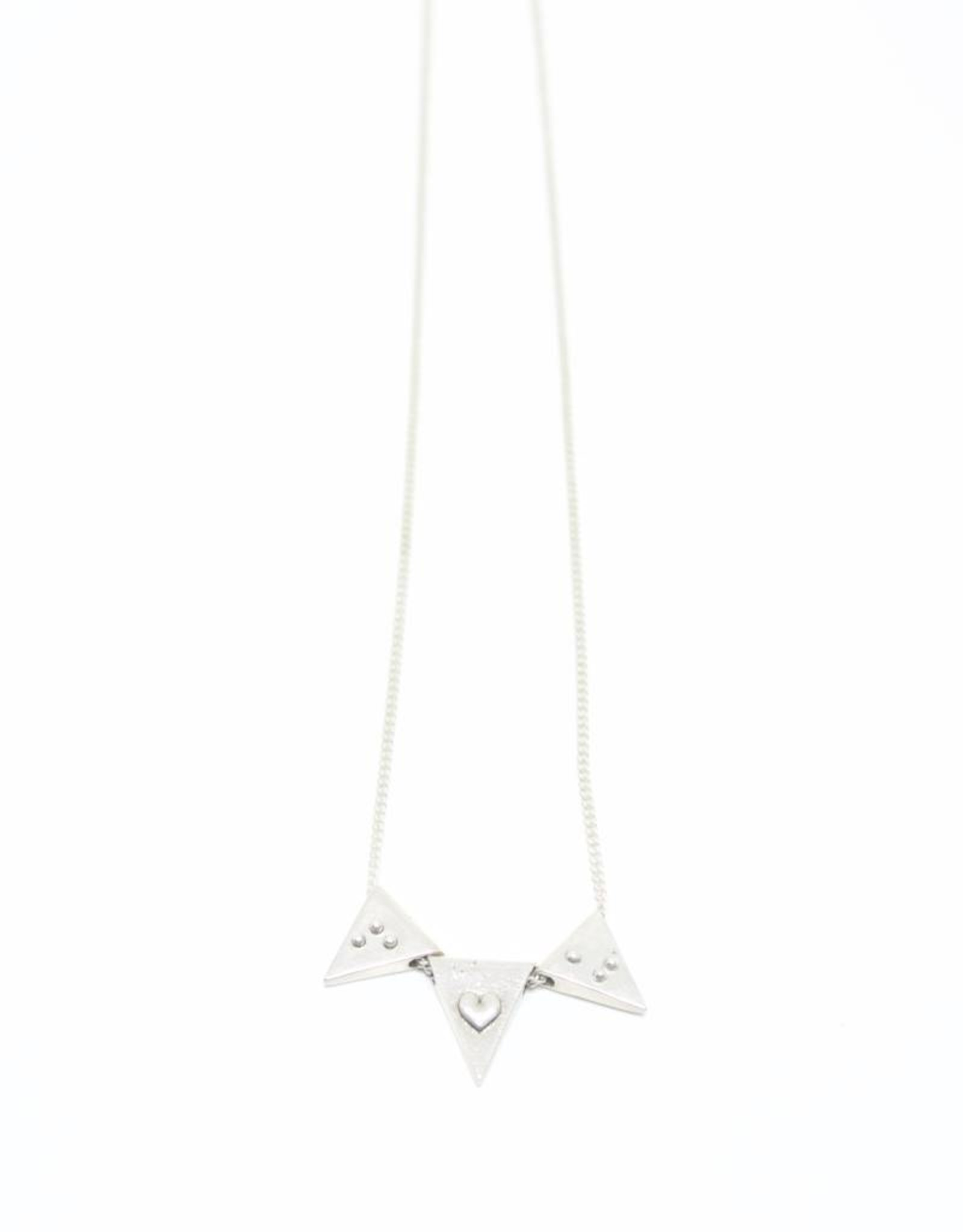 "Covet + Keep Jewelry Jessie ""F 'heart' U"" Neckace"