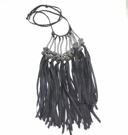 Ann Lightfoot Fringe Necklace