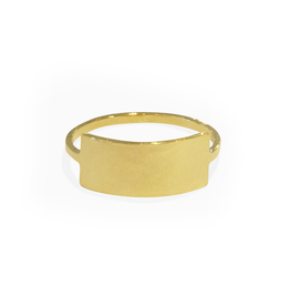 Mason Grace Jewelry Slim Thick ID Ring