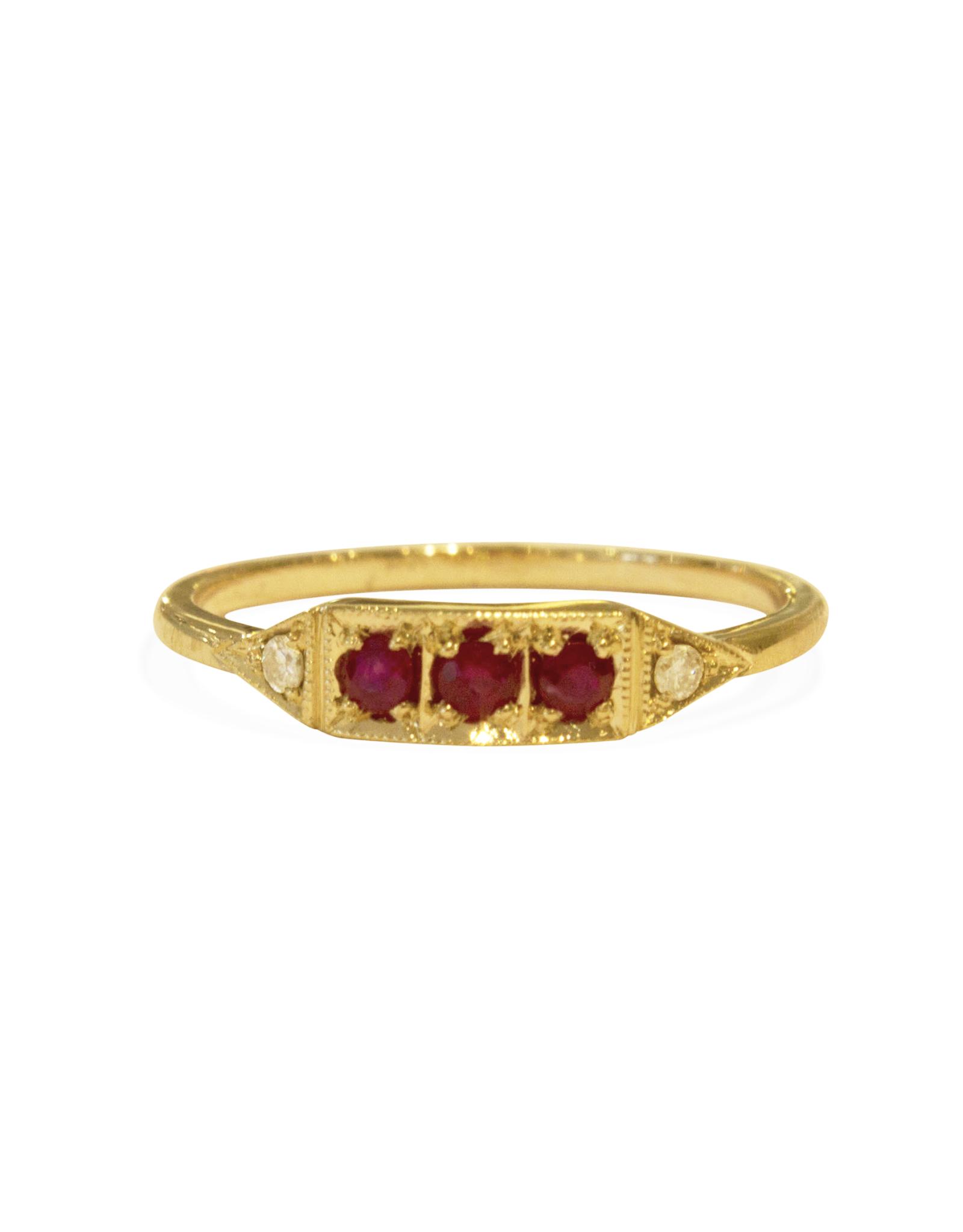 Mason Grace Jewelry Ms. Goodbar Ruby Ring