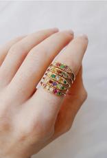"Mason Grace Jewelry Ms. Goodbar ""adore"" Acrostic Ring"