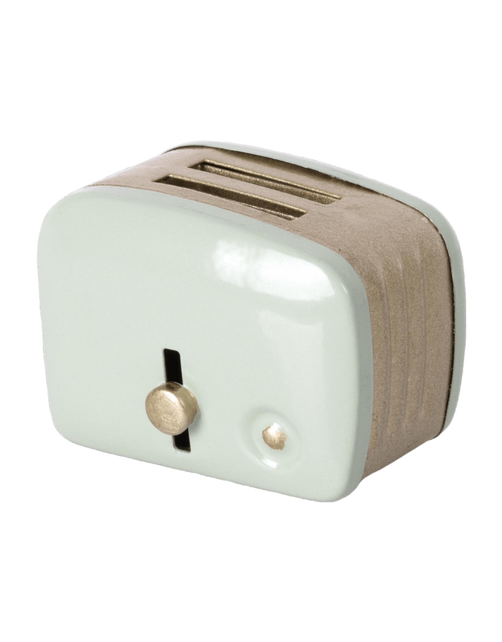 Maileg Miniature Toaster + Toast - Mint