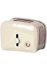 Maileg Miniature Toaster + Toast - Off White