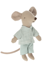 Maileg Little Brother Mouse Outfit - Pyjamas