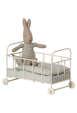 Maileg Micro Cot Bed - Blue
