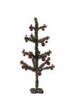 Maileg Mouse Christmas Tree - Antique Silver