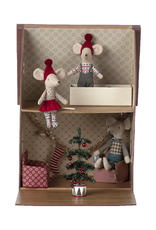 Maileg Christmas Big Sister Mouse in Matchbox