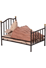 Maileg Vintage Mouse Bed - Anthracite