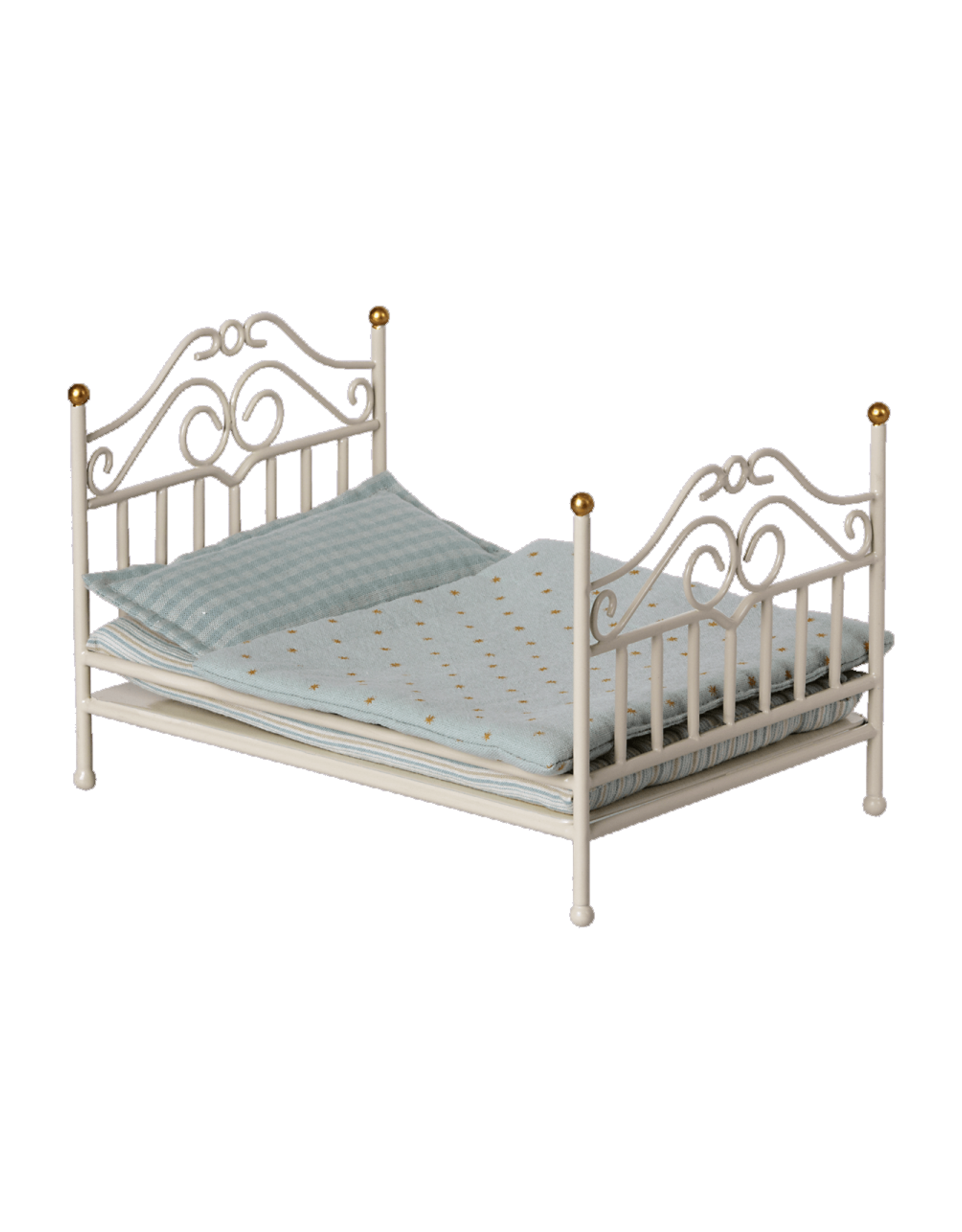 Maileg Vintage Micro Bed - Off White